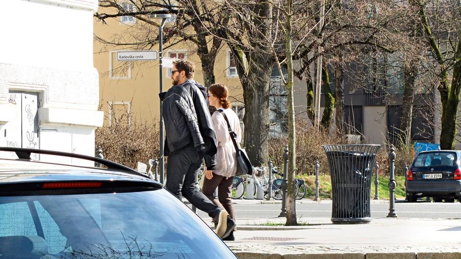 Jurij Zrnec in Aleksandra Ilijevski potrdila, da sta par (foto: Story Press, Sašo Radej)