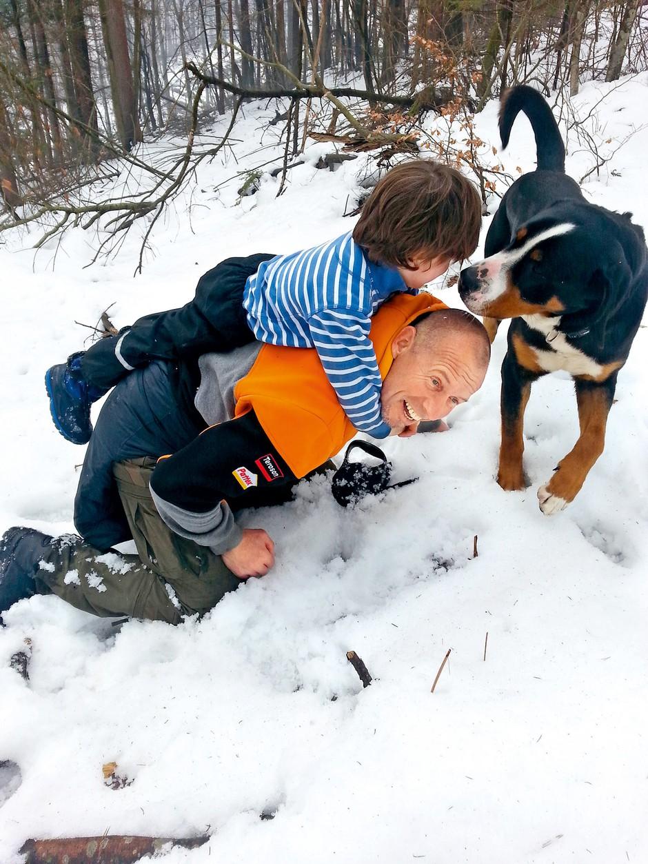 Miran Stanovnik prisega na pse (foto: Lea)