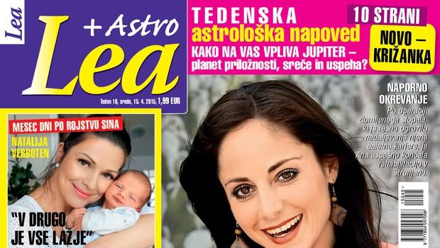 Ana Klašnja za novo Leo o poškodbi, ki ji lahko uniči kariero!