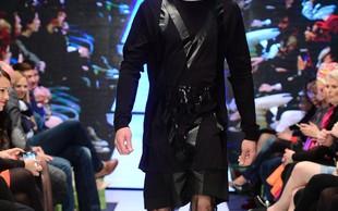 Temačno stilski banditi in vitezi na Ljubljanskem tednu mode!