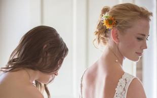 Katja Koselj na poročnem festivalu s poročnimi kosi znanih