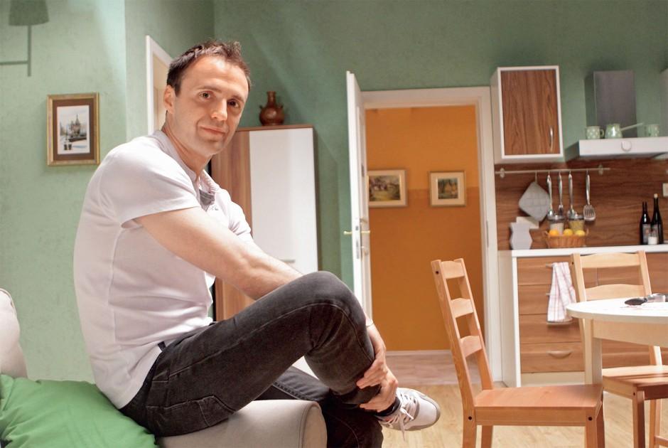 Ranko Babič: Manjka mu še vloga v filmu (foto: Goran Antley)