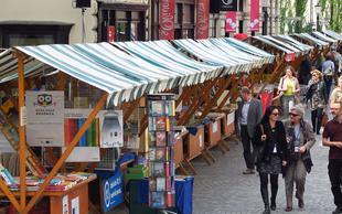Foto utrinki ob svetovnem dnevu knjige v Ljubljani