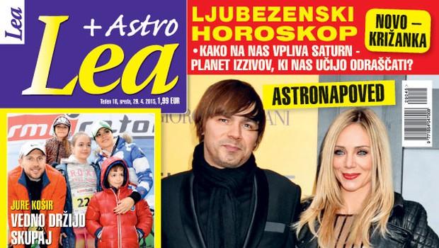 Katarina Čas in Lado Bizovičar sta si usojena, piše nova Lea! (foto: Lea)