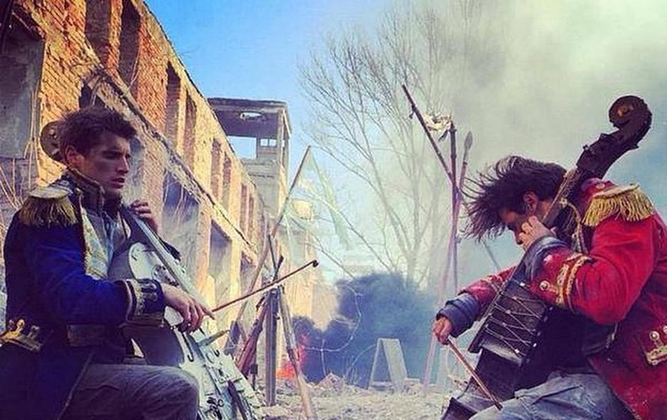 2CELLOS predstavlja nov videospot za pesem 'They Don't Care About Us' (foto: 2Cellos)