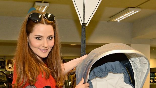 Katarina Mala nam je zaupala, kako doživlja nosečnost (foto: Sašo Radej)