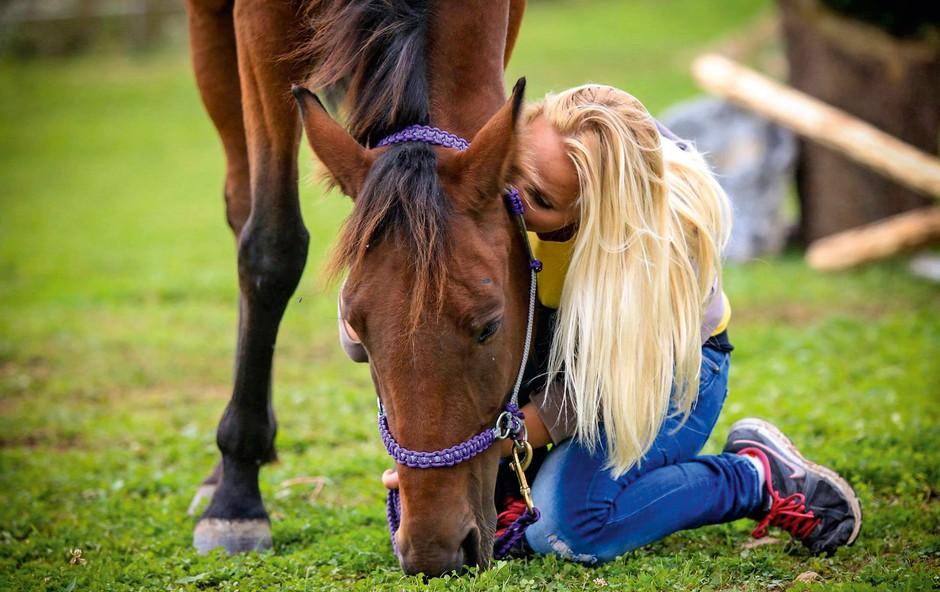 Znani ponudili svojo pomoč tudi zavrženim in trpinčenim konjem (foto: Lea)