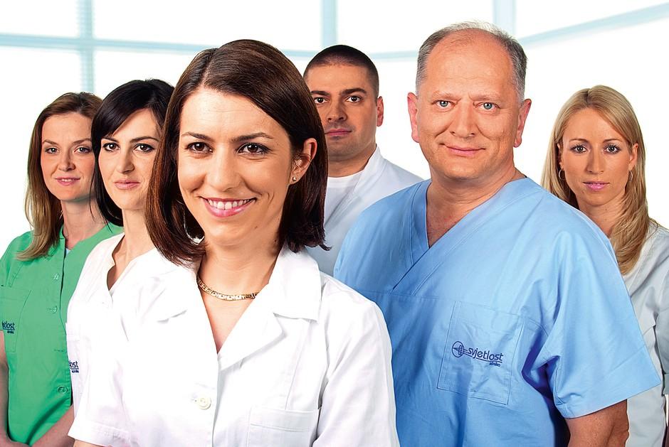 Dr. Nikica Gabrić - nanj prisegajo zvezdniki! (foto: Lea)