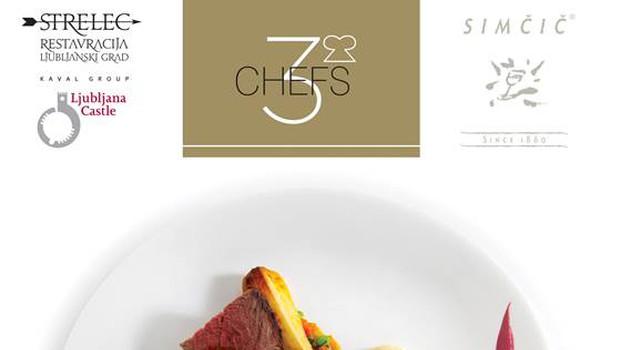 Obeta se kuharski spektakel treh šefov (foto: Restavracija Strele)