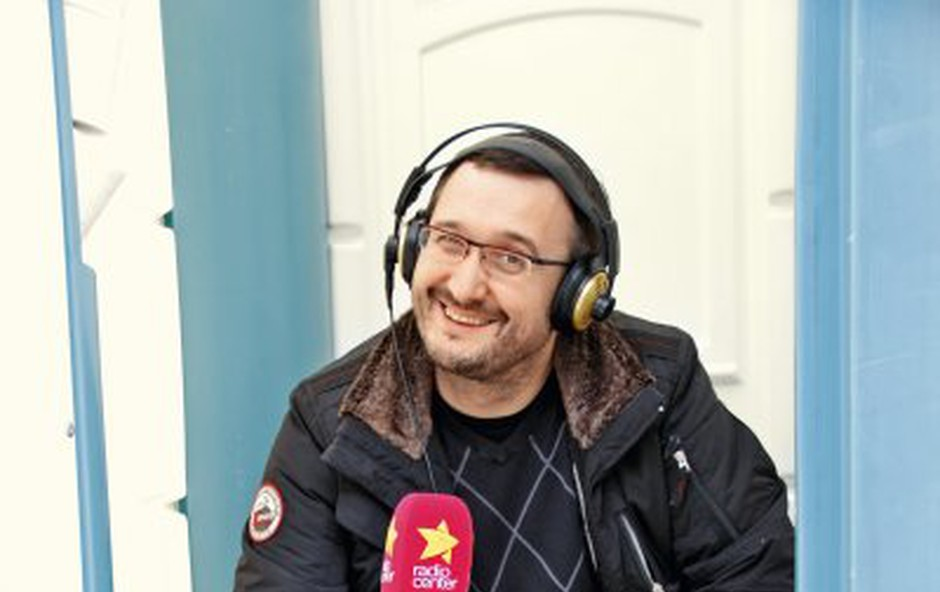 Željkić iz Radia Center kliče Bayern (foto: Arhiv)