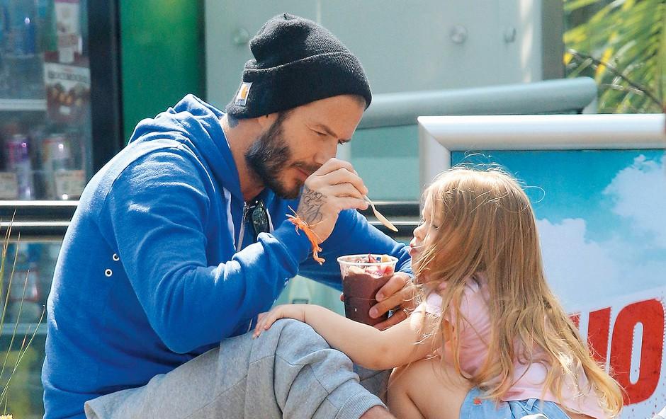 "David Beckham: ""Vzoren očka"" (foto: Profimedia)"
