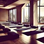 V fitnesu, kjer obiskuje skupinske vaje pilatesa  in joge, imajo razgled, ki jo vsakič znova navduši. (foto: osebni arhiv)