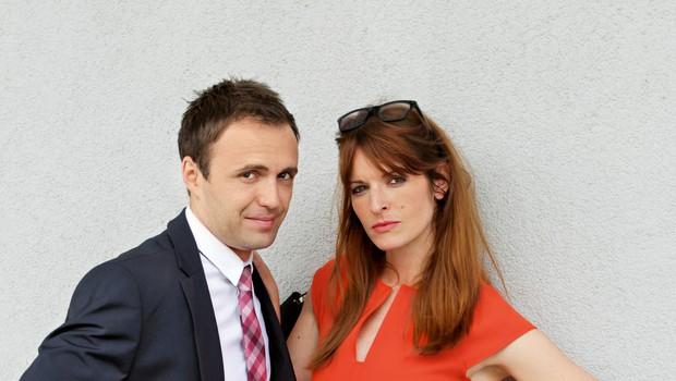 """Ana Dolinar in Ranko Babić: """"Bila sva kot pravi parček"""" (foto: Goran Antley)"""