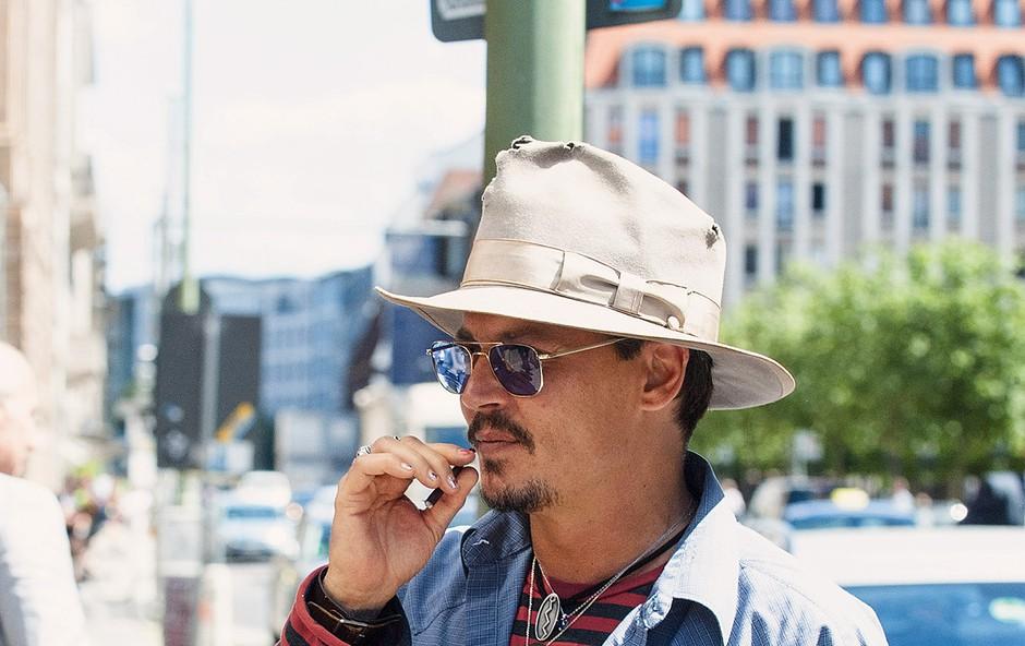 Johnny Depp bo igral v filmu V pričakovanju barbarov (foto: Profimedia)