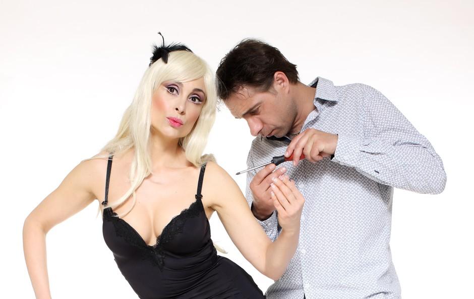 V iLutki prvič na odru skupaj Tina Gorenjak in Gorazd Žilavec (foto: Dejan Nikolič)