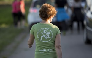 Nova tekaška trasa 10. dm teka za ženske