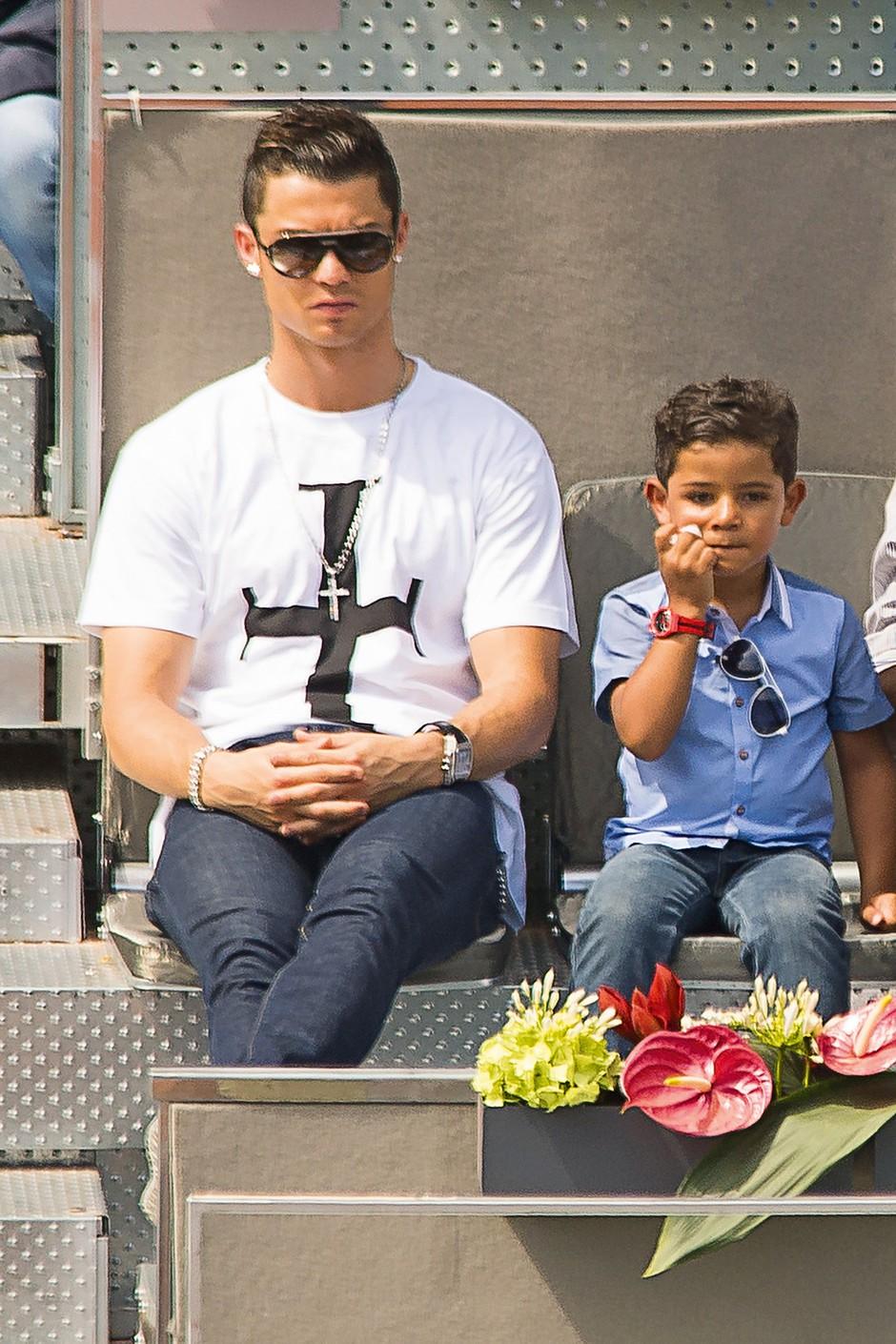 """Cristiano Ronaldo: """"Na prvem mestu je sin"""" (foto: Profimedia)"""