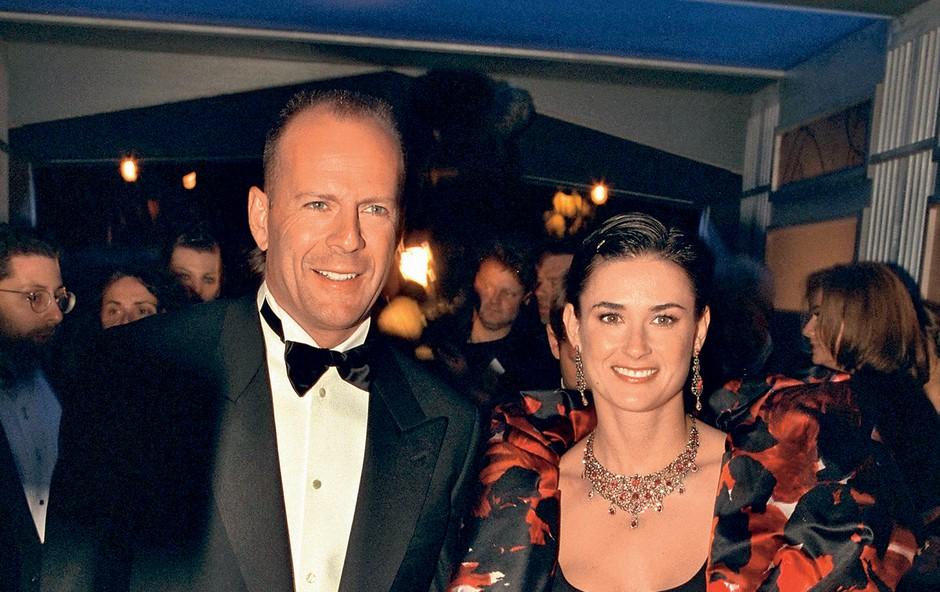 Bivša zakonca Demi Moore in Bruce Willis izolacijske čase preživljata skupaj! (foto: Profimedia)