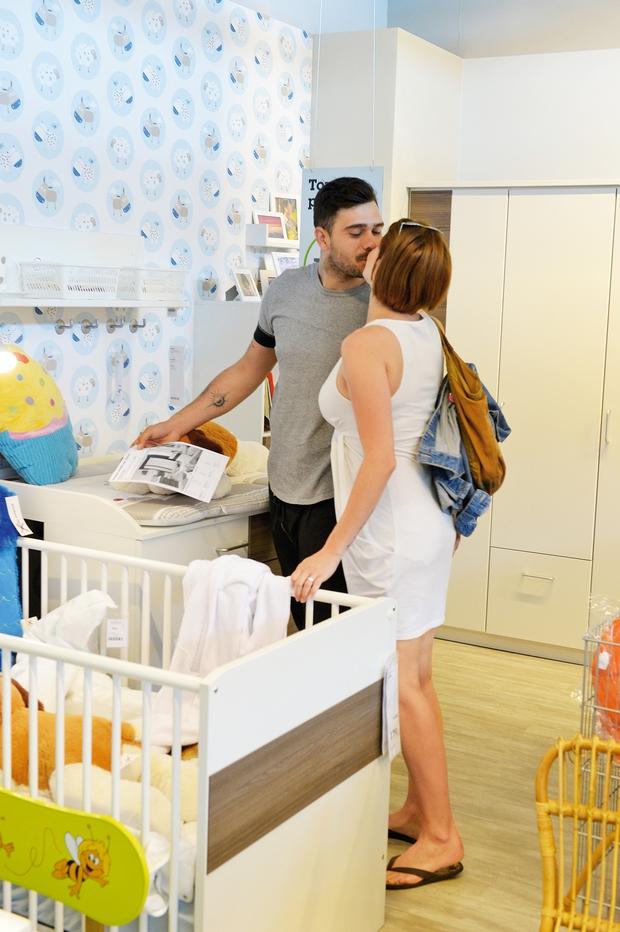 Teja Perjet je pokazala nosečniški trebušček (foto: N. Divja)