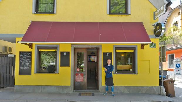 Žiga (Big Brother) je postal začasni gostinec (foto: Primož Predalič)
