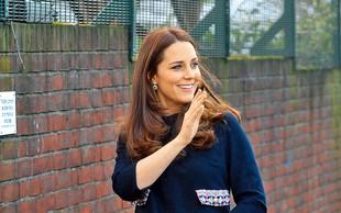 Kate Middleton strada s pitjem džusov