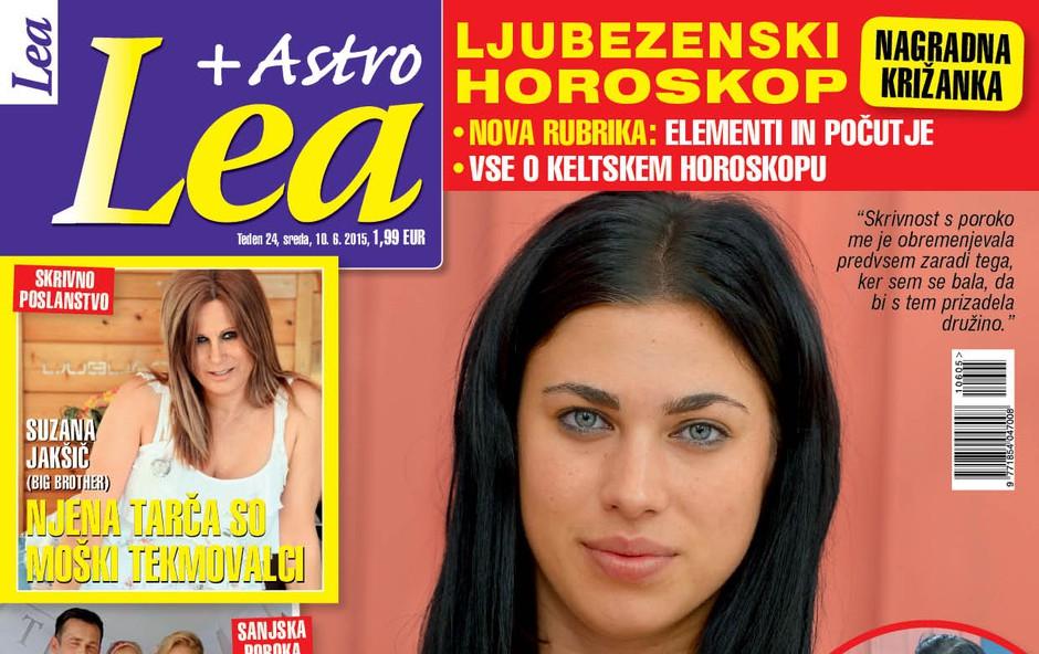 Finalista Bara sta Ivona & Črt! Lea razkriva, kaj bi naredila z nagrado!