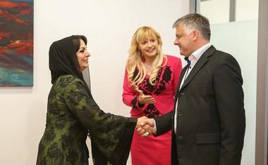 Šejka Thoraya Al Awadhi Slovenijo vidi kot priložnost za sodelovanje