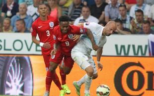 Nogometni obračun med Slovenijo in Anglijo je spremljala polovica Slovenije