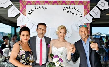 Miša Margan in njena poroka med orhidejami