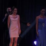 Iztok Gartner s šopkom lepotic na premieri albuma Marie Masle (foto: Iztok Gartner)