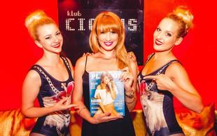 Kataya v Cirkusu proslavila rojstni dan in 'duplerico' v novem Playboyu