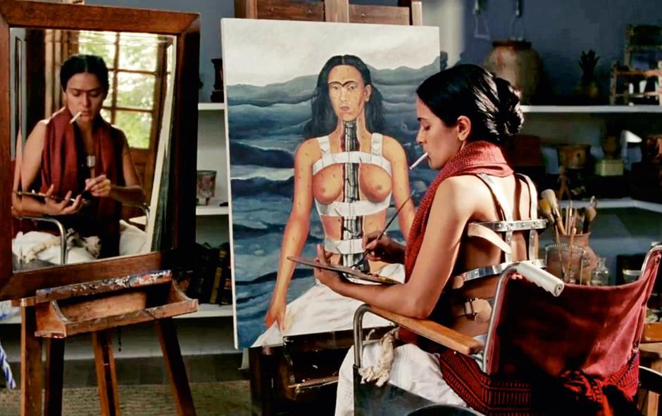 Slikarko je v filmu Frida odlično upodobila mehiška igralka Salma Hayek. (foto: profimedia)