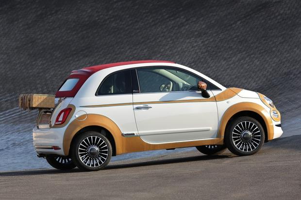 Fiat 500 za podporo človekovim pravicam (foto: Fiat)