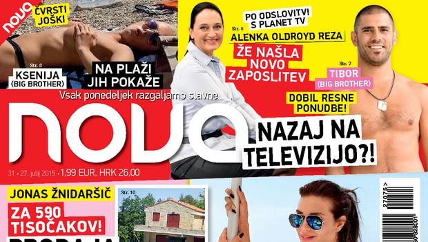 Pia svojo Big Brother nagrado zapravlja v Italiji, piše nova Nova!