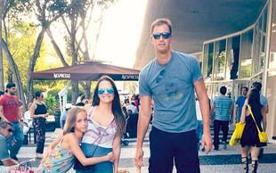 Primož Brezec uživa družinsko idilo v Miamiju