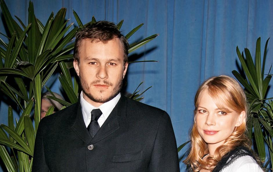 Na dan prišle podrobnosti o ljubezni med Michelle Williams in Heathom Ledgerjem (foto: Profimedia)