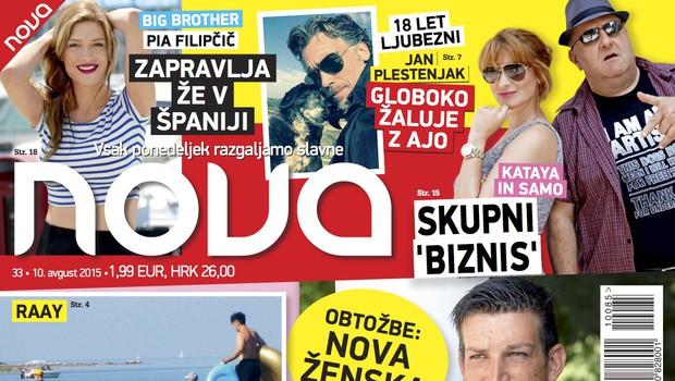 Tomaž Škvarč Lisjak se je odzval na obtožbe, piše nova Nova (foto: AM)
