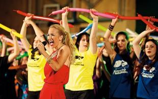Nekdanja Power Dancerka Natka Geržina ponovno z mikrofonom v roki