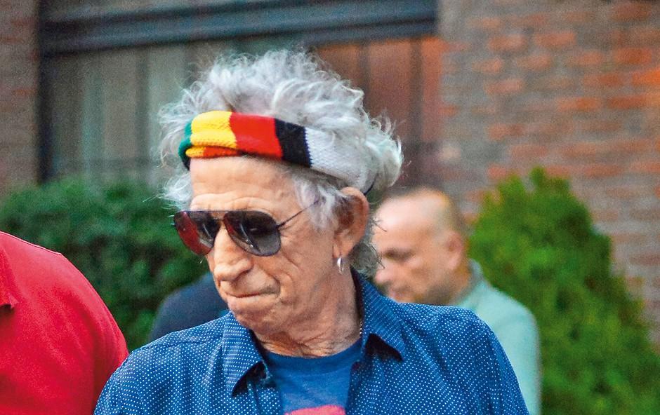 Prihaja dokumentarec o kitaristu skupine The Rolling Stones (foto: Profimedia)