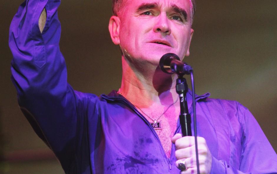 Največji britanski rock pesnik Morrissey oktobra prihaja v Ljubljano! (foto: Goran Antley)