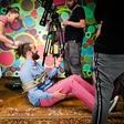 Hamo&Tribute 2 love na snemanju novega videospota
