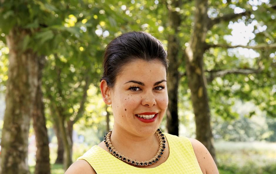 Ana Marija Mitić: Šla je na medene tedne (foto: Helena Kermelj)