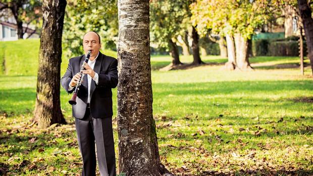 Priznani slovenski klarinetist Andrej Zupan je bil za svoje delo že velikokrat nagrajen. (foto: Polona Avanzo, Klara Klančnik)