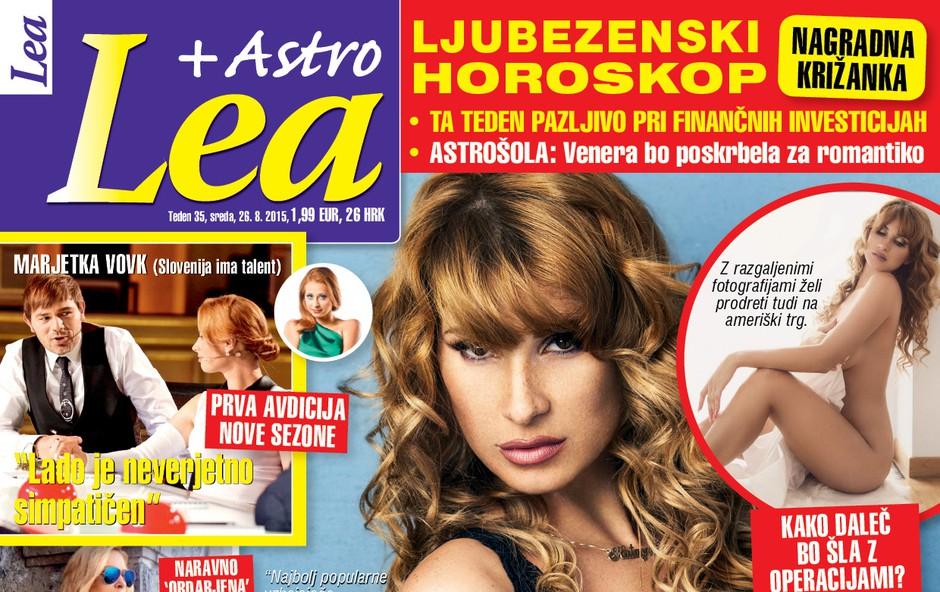 Kataya želi z razgaljenimi fotografijami na ameriški trg, piše nova Lea! (foto: Lea)