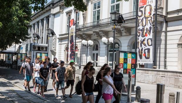 50. Festival Borštnikovo srečanje, vpis abonmajev in predprodaja vstopnic (foto: Boštjan Lah)
