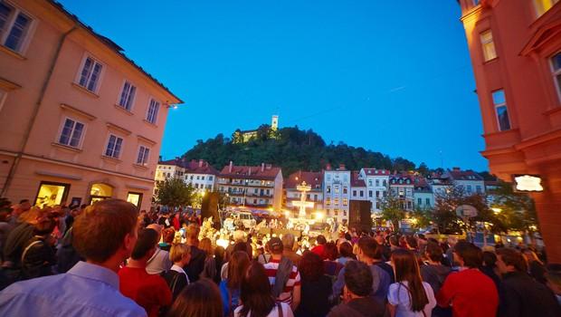 Pričenja se festival Noči v Stari Ljubljani (foto: Janez Kotar)