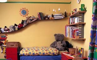 Feng shui za otroško sobo