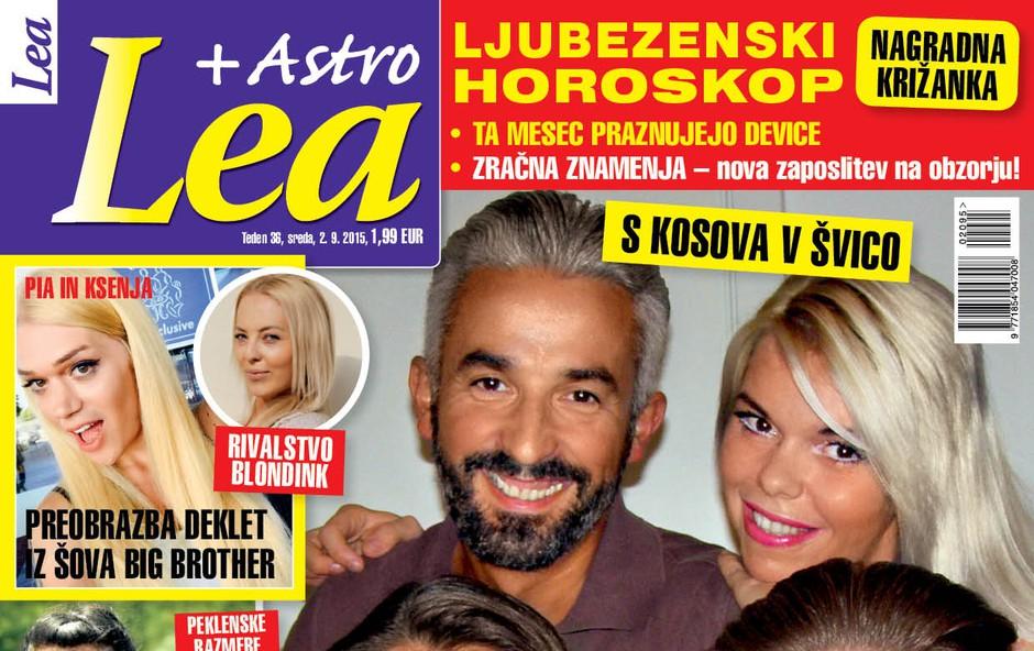 Nana in Gena Zeneli o selitvi v Švico ekskluzivno za novo Leo! (foto: Lea)