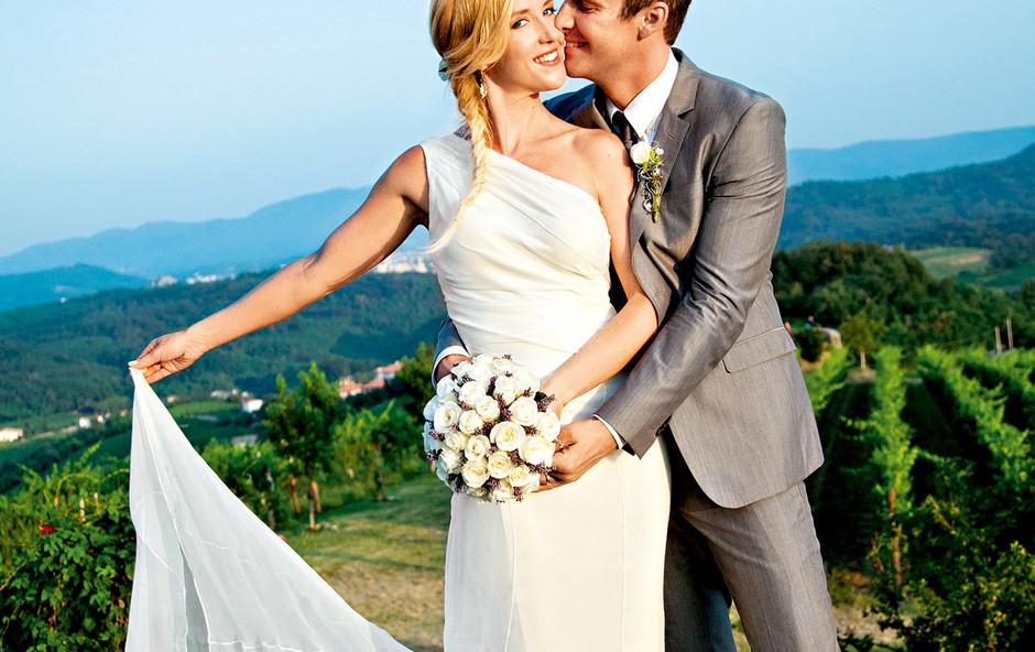 Od pravljične poroke so minila že tri leta. (foto: Darja Štravs Tisu)