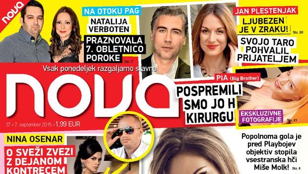 Pred Playboyev objektiv gola stopila še hči Miše Molk, piše Nova! (foto: Nova)